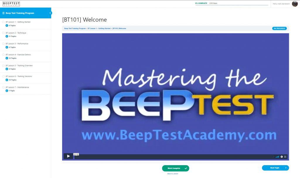 Download The Beep Test Audio Beep Test Mp3