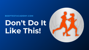 Beep Test – Foot Placement