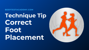 Beep Test Turning Technique – Using The Correct Foot Placement