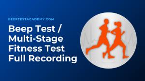 Beep Test Audio File Download